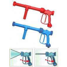 Пистолет низкого давления RB 65-350, синий, 24bar, 60l/min, 90°C, вход 1/2внут PA 30.6465.00