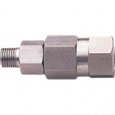 Поворотная муфта для консоли 28.3350.80, 390 бар, 40 л/мин, 160 °C, вход-3/8внеш,  выход-3/8внут, нержавеющая сталь PA
