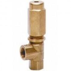 Предохранительный клапан VS 220, 1 входное отверстие, 250bar, 24л/мин, вход 3/8внут, bypass 3/8внут PA
