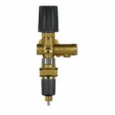 Регулятор давления ST-261 с выключателем давления, 250bar, 30 l/min, вход 3/8внут, выход 3/8внут, bypass 1/4внут, манометр 1/4внут, перепускной вентиль с микровыключателем (IP65) и кабелем 1200mm R+M 200261550