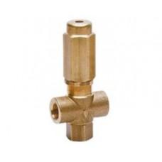 Предохранительный клапан VS 220, 2 входных отверстия, 250bar, 24л/мин, вход 3/8внут, bypass 3/8внут PA 60.0525.00