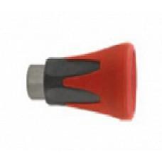 Пластиковая защита форсунки (красная), 400bar, 1/4внут, оцинк.сталь R+M 200010520