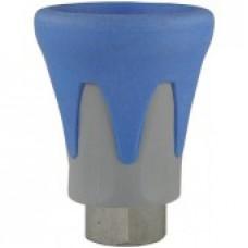 Пластиковая защита форсунки (синяя), 500bar, 1/4внут, нерж.сталь R+M 200010740