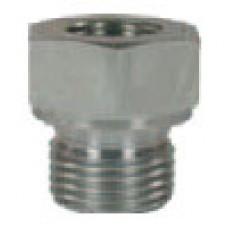 Переходник 1/8внут - 3/8внеш, 500bar, оцинк.сталь R+M 57528