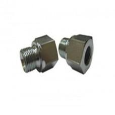 Переходник (копье-ниппель) 1/4внут - 3/8внеш  250bar, 500bar, оцинк.сталь R+M 57538
