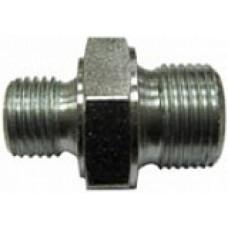 Переходник M22x1,5внеш - 1/2внеш, 400bar, оцинк.сталь R+M 58114121