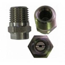 Форсунка 15045 (сила удара-100%), 1/4внеш, нерж.сталь R+M 61340