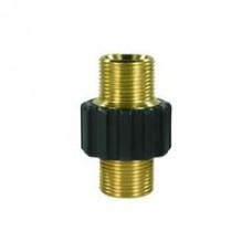 Соединительная муфта для шлангов ВД с изоляцией, 400bar, М22:М22, латунь R+M 56940