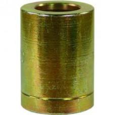 Муфта обжимная 2ST/2SN DN08, внут.диаметр-15,7mm, длина-30mm, оцинк.сталь R+M 31220