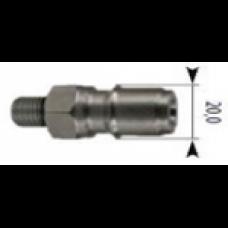 Ниппель 250bar (557209), 1/4внеш, нерж.сталь R+M 40005669