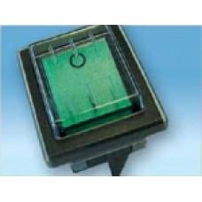 "Кнопка ""зеленная"" 200, 200 IDRO, 300, 700 72268 MECI (00756)"