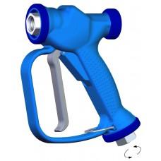 Пистолет низкого давления RB 65, 24bar, 100l/min, 90°C, вход 1/2внут с вращением, выход 1/2внут PA