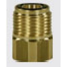 Держатель форсунки Karcher, 1/4внут - M18внеш (арт. 010000043), латунь