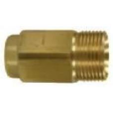 Контрниппель для вращ. соединений M22х1,5внеш-1/4внут, 400bar, латунь R+M 565251