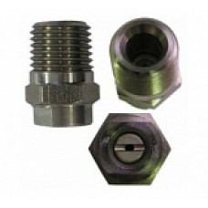 Форсунка 15040 (сила удара-100%), 1/4внеш, нерж.сталь R+M 61330