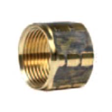 Гайка накидная для прессниппеля M22, 400bar, внут.диаметр 16,4mm, латунь