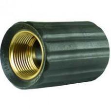 Гайка накидная для прессниппеля M22, внут.диаметр 17,3mm, латунь