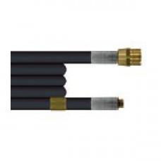 Шланг для прочистки труб и промывки канализации 25m (DN06, 300bar, 100°C, М22х1,5внеш-1/8внеш) R+M 420310025